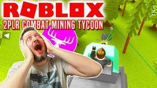 MEGA KRIG MED DME OG FANS! - Roblox 2PLR Combat Mining Tycoon Dansk med Den Mandige Elg
