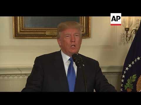 Trump on Iran nuclear deal