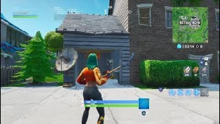 Secret passage in the niche house! Fortnite Battle Royale