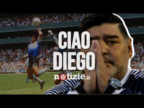 Diego Armando Maradona è morto: il ricordo della Leggenda del calcio