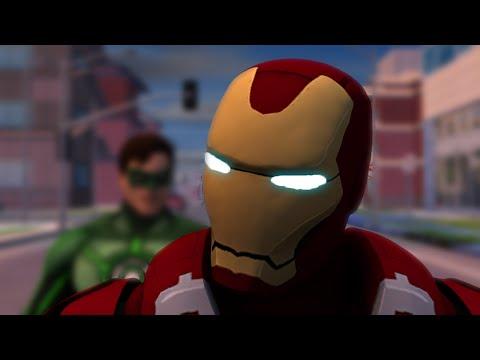 Marvel (Civil War) vs. DC (Justice League) - Full Battle [HD] | Animation Film