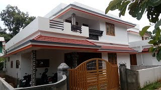 Villa for sale at Perumbavoor 5.50 cent 2060sqft 4bhk new house 52 lakhs call 9544959507