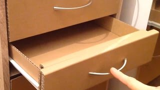 How To Make A Cardboard Drawer