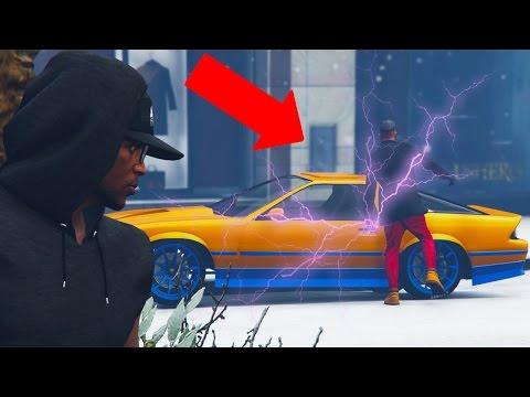 GTA 5 Online - ELECTRIC-SHOCK CAR TROLLING! (GTA V Online)