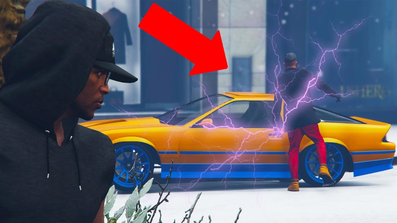 Gta Online Electric Shock Car Trolling Gta V Online Youtube