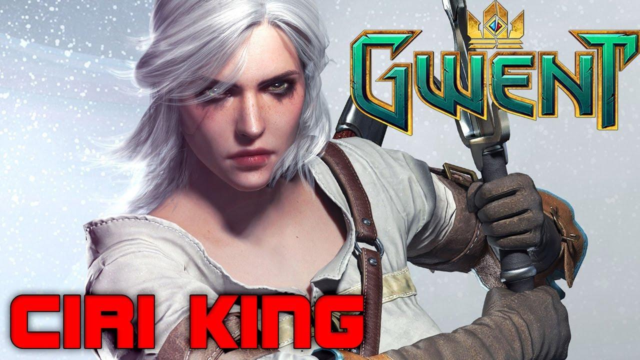 Gwent kambi ciri dash the chick is back gwent gameplay - Ciri gwent card witcher 3 ...
