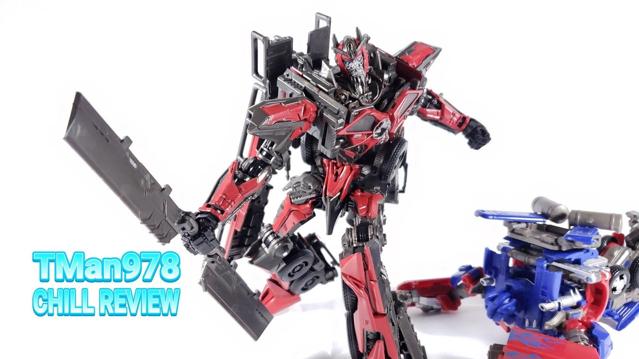 Transformers Studio Series #61 Sentinel Prime CHILL REVIEW By TMan978