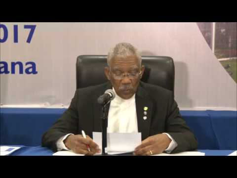 Post-Media briefing 28th Inter-sessional Meeting of Heads of Government of CARICOM