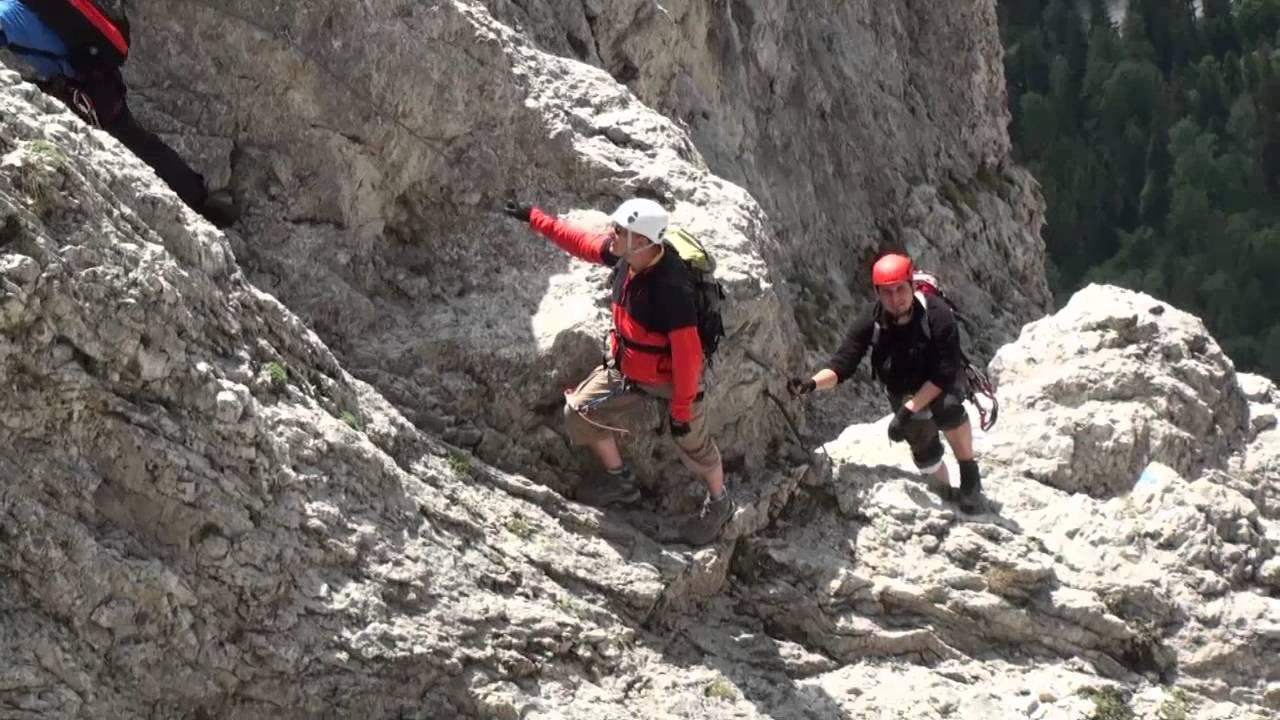Klettersteig Rax : Hans von haid klettersteig rax youtube