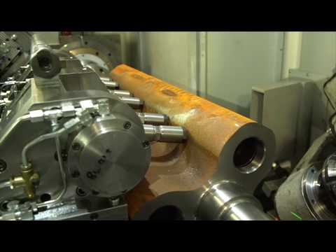 Rotor and Roots Blowers Milling Machine - PTG Holroyd Precision