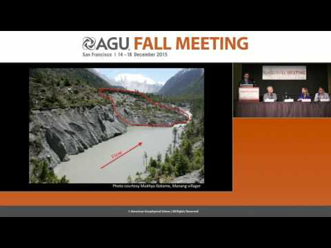 FM15 Press Conference   Future Himalayan seismic hazards Insights from earthquakes in Nepal