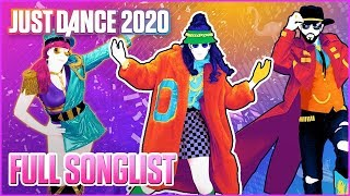 Just Dance 2020 - Full Song List |  Music Game 2019 | HD