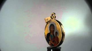 Medalik.eu Matka Boska Częstochowska, Archanioł MIchał,Medallion Angel Black Madonna