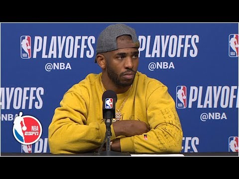 Chris Paul: Warriors 'just outplayed us' in Game 6 | 2019 NBA Playoffs