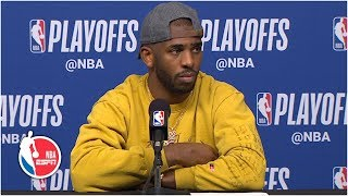 Chris Paul: Warriors 'just outplayed us' in Game 6   2019 NBA Playoffs