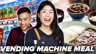 We Made A 3-Course Meal From Tokyo's Vending Machines