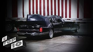 vuclip Smashing Limousine Scenes: WWE Top 10