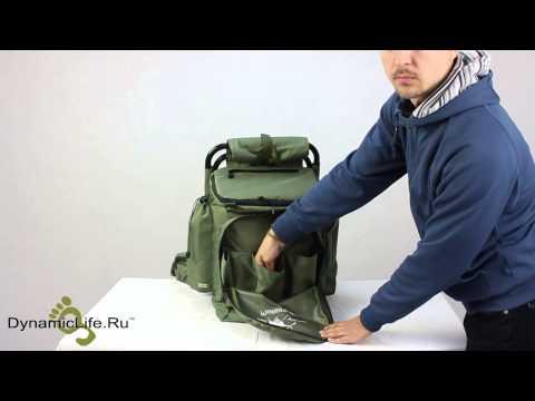 мой рюкзак рыбака видео