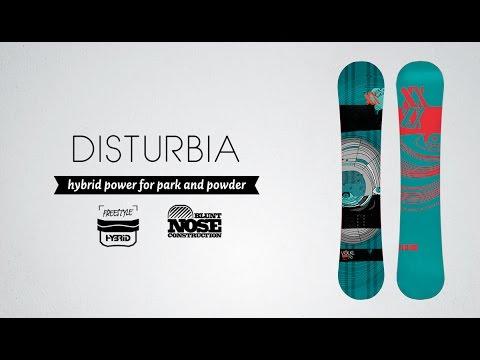 Völkl Womens Disturbia Snowboard