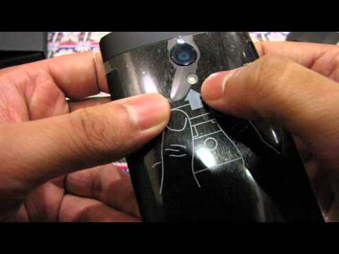 Sony Xperia ION Unboxing & Handson Full HD 1080p