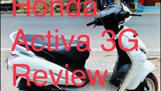 Honda Activa 3G review @ Pondicherry
