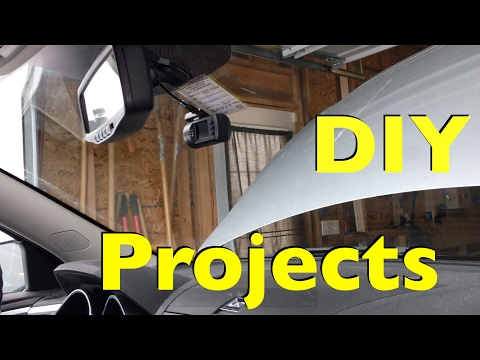 2 DIY Projects Done - Snow Thrower Belts And Mini 0806 Dashcam Installation!