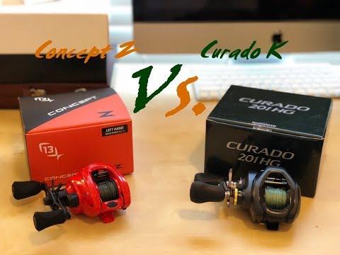 2018 13 Fishing Concept Z vs. 2018 Shimano Curado K: My Candid Review
