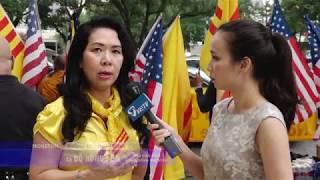 VIETV HOUSTON- PSCD Biểu tình đòi tự do cho Will Nguyen tai LSQ VC