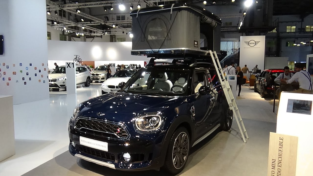 2017 Mini Cooper S Countryman Exterior Interior Roof