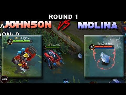 MOLINA VS JOHNSON - WHO IS FASTER?