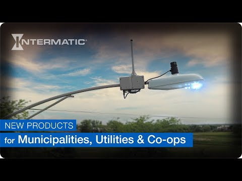 Intermatic Photocontrols and Accessories Deliver for Municipalities, Utilities and Cooperatives