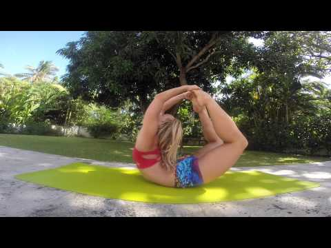 Dhanurasana Yoga Demo