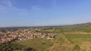 Vue du ciel de Sigean - Drone