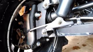 Super ATV GDP portal lift review Rzr 900 trail
