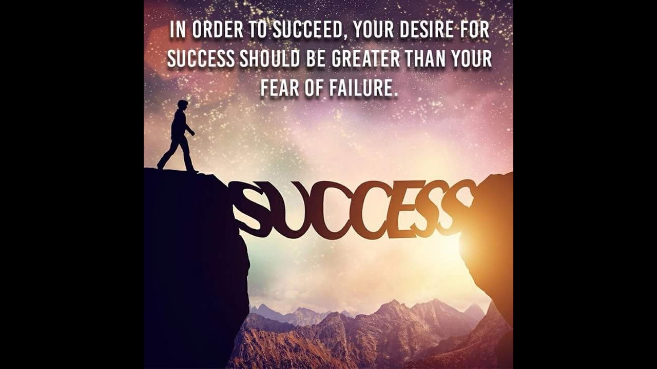 failure to success Failure is not a step backward it's an excellent stepping stone to success learn how to put failure to work for you in.