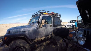 Date: 12-31-2016 Overlanding Arroyo Salado trail at Anza Borrego.