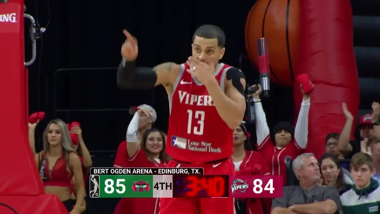 Angel Rodriguez (15 points) Highlights vs. Maine Red Claws