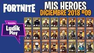 #09 MY HEROES DECEMBER (AIR HEART, LOBUNO) FORTNITE SAVE THE WORLD SPANISH GUIDE