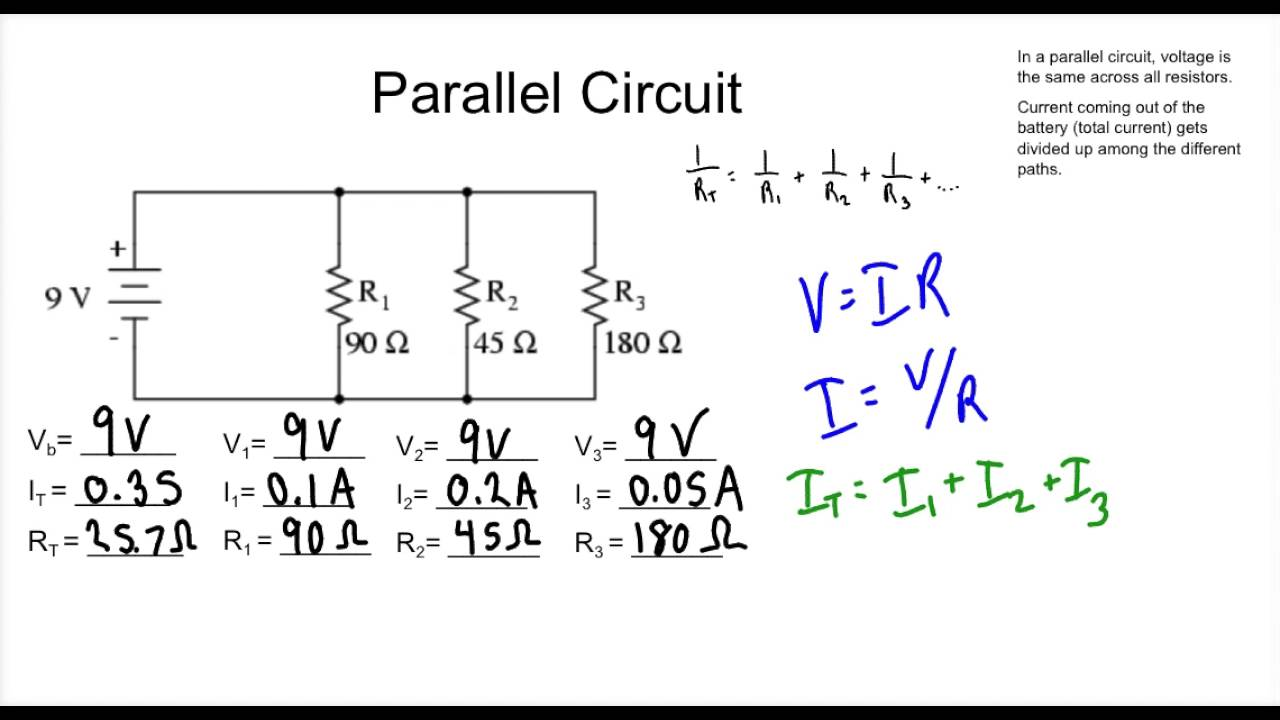 Series And Parallel Circuit Practice