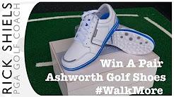 WIN- Ashworth Cardiff ADC Golf Shoes #WalkMore
