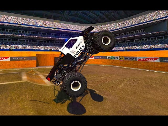 MONSTER TRUCK MADNESS - BEAMNG DRIVE