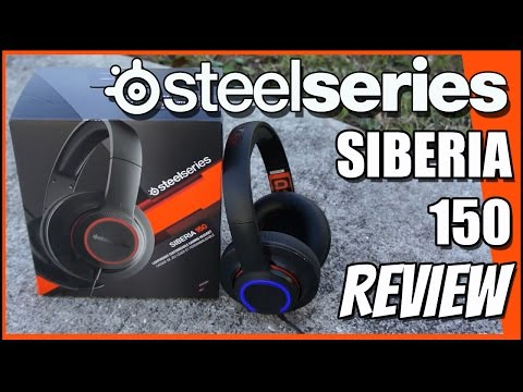 SteelSeries Siberia 150 Headset REVIEW!