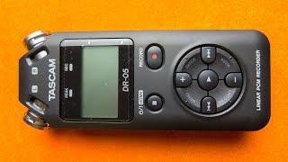 посылка с Ebay: Диктофон Tascam DR-05 - распаковка и обзор
