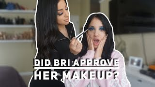 BRITT DOES BRIS MAKEUP FOR THE FIRST TIME