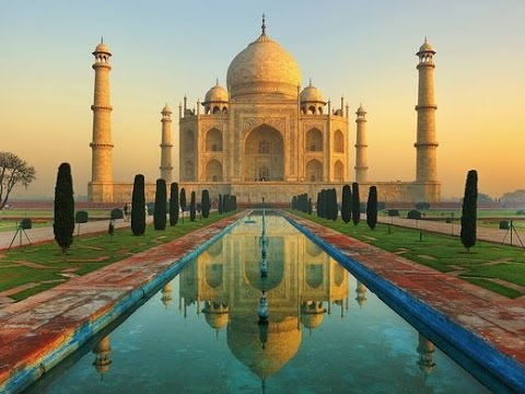 beautiful views of the taj mahal india youtube rh youtube com