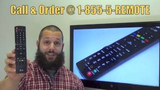 LG AKB72915206 Remote Control - www.ReplacementRemotes.com