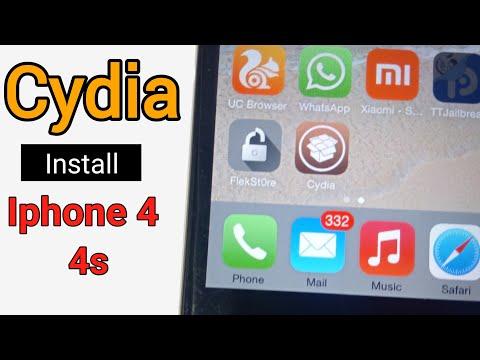 Cydia Install Iphone 4 ,4s In 2 Minutes Hindi