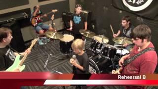 Summer Camp School Of Rock Stone Oak, San Antonio TX June 18