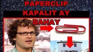 Paperclip kapalit ay bahay (Kyle MacDonald story)