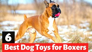 6 Best Dog Toys for Boxer Dogs | Which one to Get?